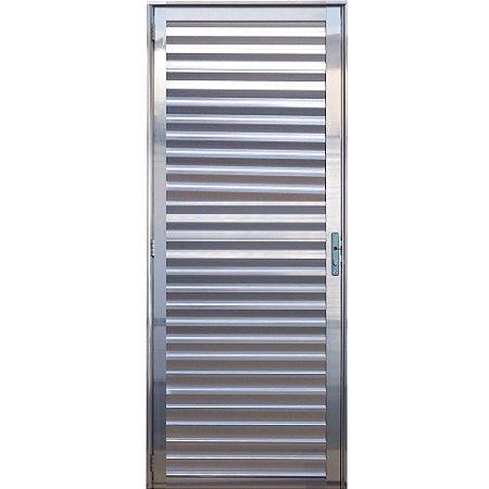 Porta Social Palheta Aluminio brilhante