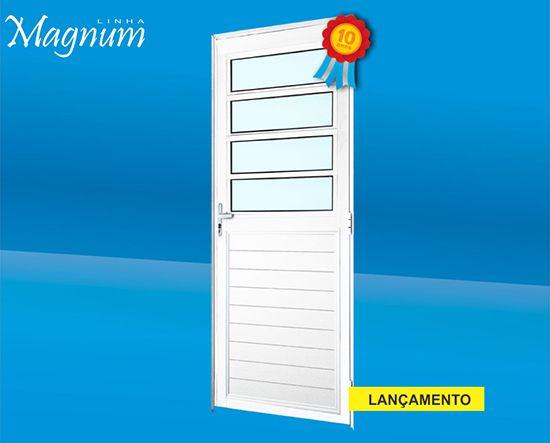 Porta Social Alumínio Linha Magnum Atlantica