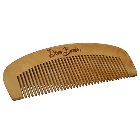 Pente de Madeira - Dom Barba:  perfeito para sua barba: reduz o frizz.