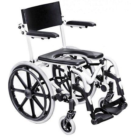 Cadeira De Banho Em Alumínio H1 Ortobras