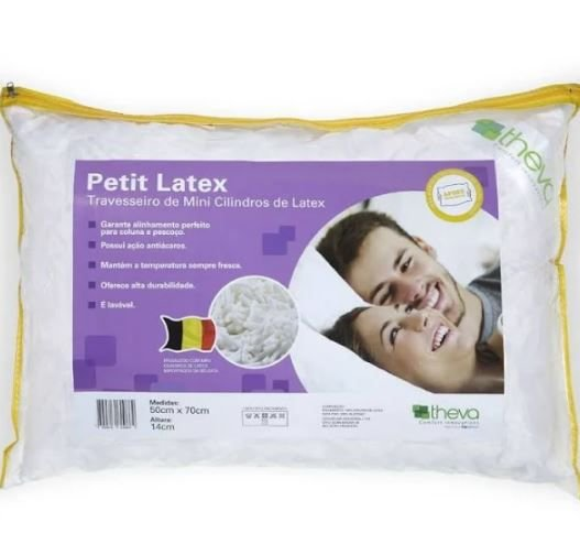 TRAVESSEIRO THEVA PETIT LATEX