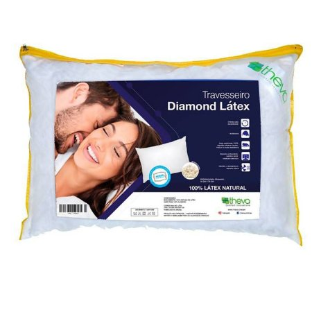 TRAVESSEIRO LATEX DIAMOND 5OX7O