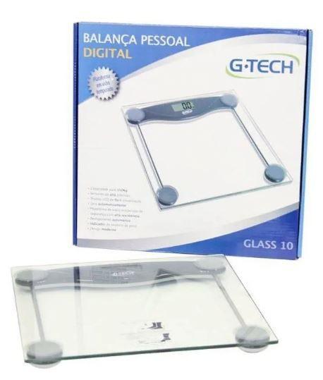 BALANÇA GLASS 10 RW G-TECH