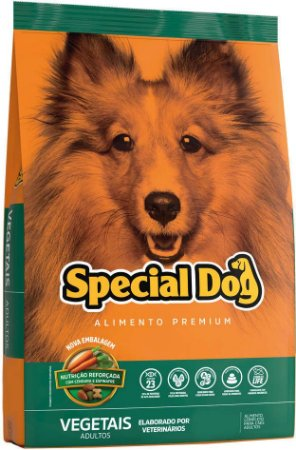 Special Dog vegetais Adulto 15kg
