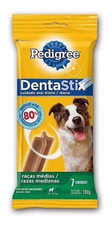 Pedigree Dentastix Cães Raças Medias 180g