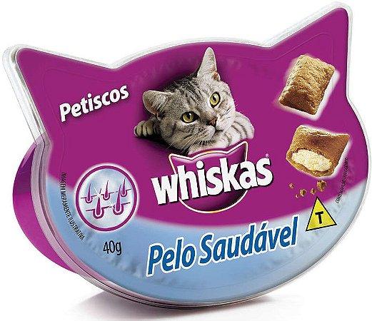 Petisco Whiskas Temptations Pelo Saudável 40g