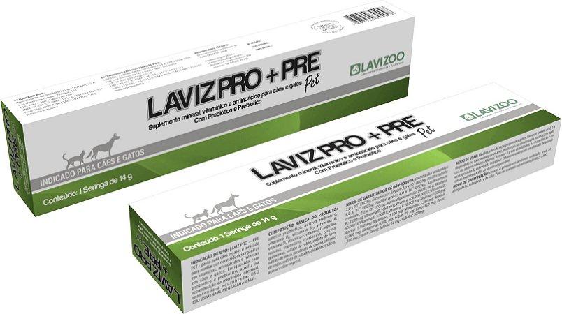 Laviz Probiótico+Prebiótico Lavizoo 14g