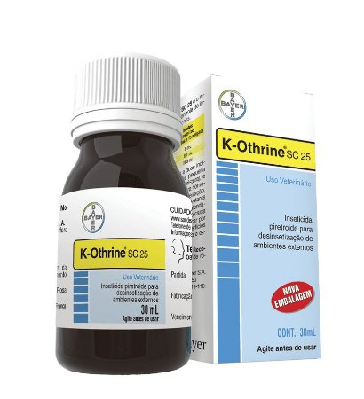 K-Othrine sc 25 - Inseticida Concentrado 30ml