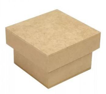 Caixa 6x6x5 Mdf - Lembrança Casamento - Kit Com 10