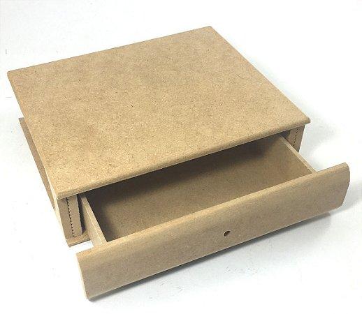 Caixa Livro Com 1 Gaveta Tamanho Grande