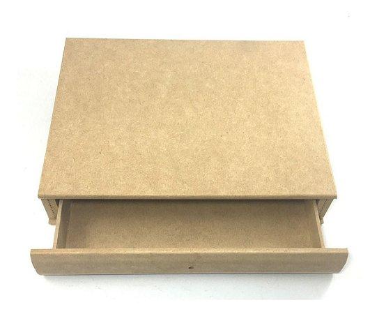 Caixa Livro Com 1 Gaveta Tamanho Pequena
