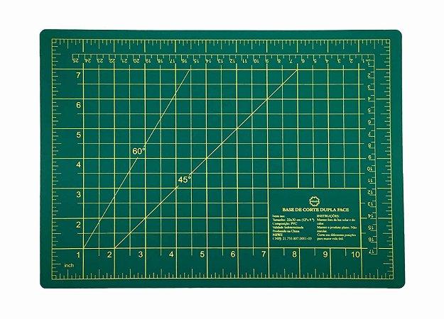 Base De Corte Dupla Face 30 X 22 Cm - Scrapbooking