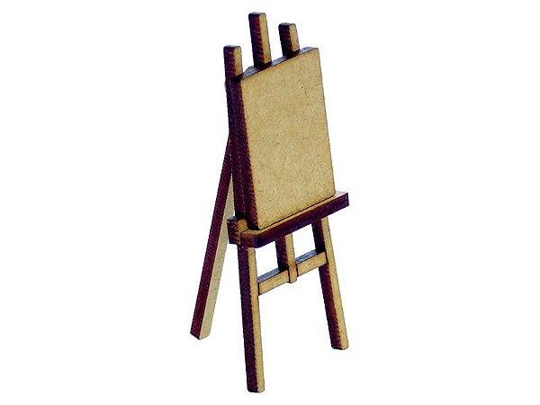 Miniatura Cavalete Com Tela Para Pintura A105