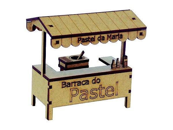 Miniatura Barraca de Pastel A071