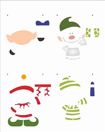 Stencil de Acetato para Pintura OPA 20×25 Simples – Duende – OPA 2555