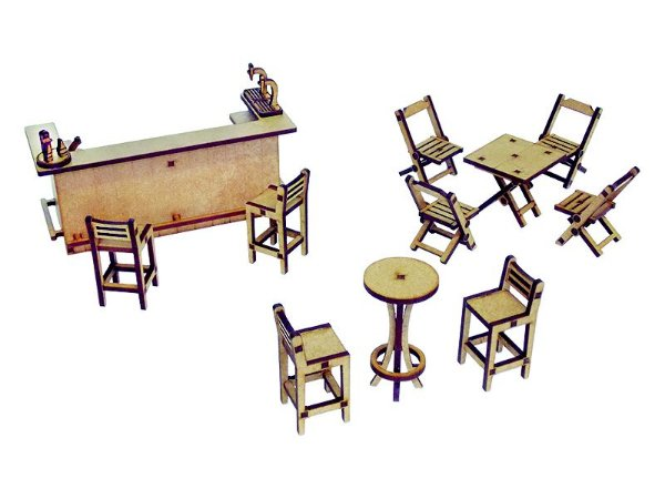 Kit miniaturas - barzinho (avulso)
