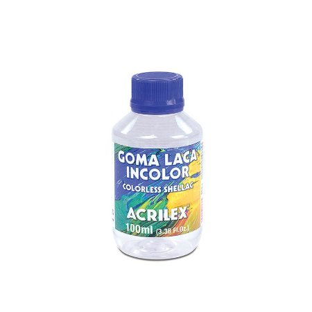 Goma Laca Incolor Colorless Shellac Acrilex 100 ml