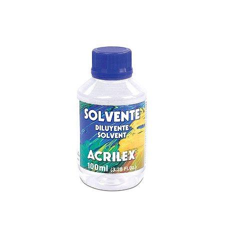 Solvente Acrilex 100 ml