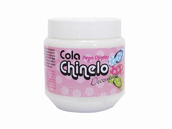 Cola Chinelo Decoupage Glitter - 250g