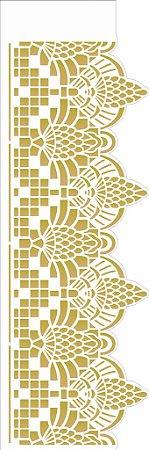 Stencil 10×30 Simples – Negativo Renda VII – OPA 2682