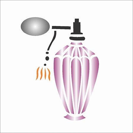 Stencil 10X10 Simples – Perfume – OPA291