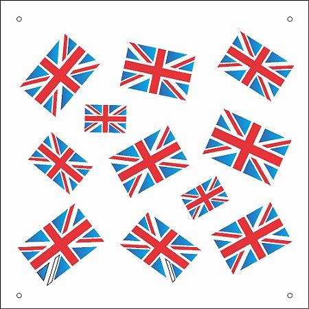 Stencil 14X14 Duplo – Micro Inglaterra – OPA 1169