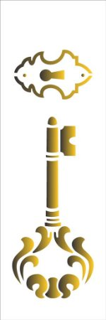 Stencil 10×30 Simples – Chave Grande – OPA 1464