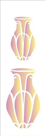 Stencil 10×30 Simples -Vaso Comprido – OPA 1476