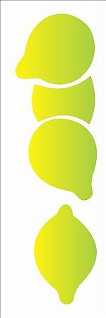 Stencil 10×30 Simples – Frutas Limão Siciliano – OPA 1872