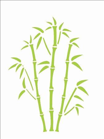 Stencil 15×20 Simples – Bambú – OPA 744