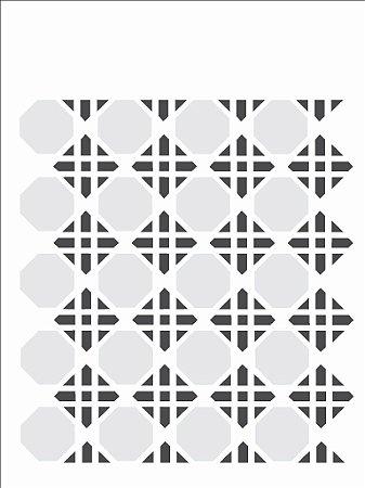 Stencil 15×20 Simples – Estamparia Geométrica – OPA 1064