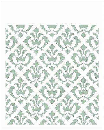Stencil 20×25 Simples – Estamparia Arabesco III – OPA 2454