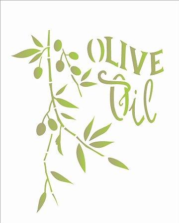 Stencil 20×25 Simples – Oliva – OPA 1830
