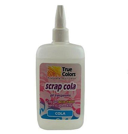 Cola Gel Transparente para Scrapbook Acid Free True Colors S