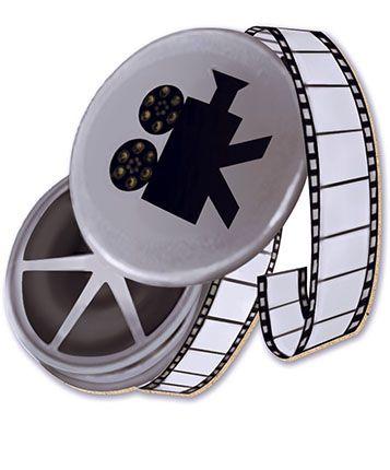 APM8-153 - Aplique Em Papel E MDF - Rolo De Filme
