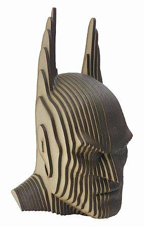 Rosto Busto Batman MDF A Laser Decoração 25 cm