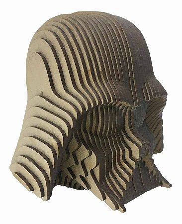Rosto Busto Darth Vader MDF A Laser Decoração 15 cm
