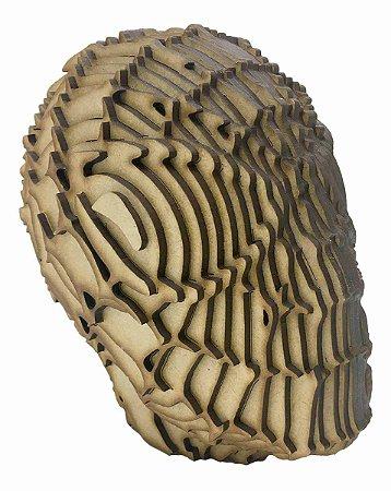 Rosto Busto Homem Aranha MDF A Laser Decoração 15 cm