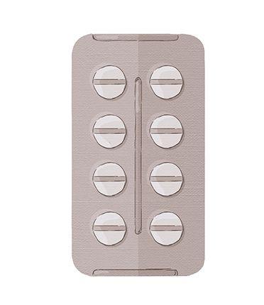APM8-589 - Aplique Litoarte Em Papel E MDF - Cartela De Remédio