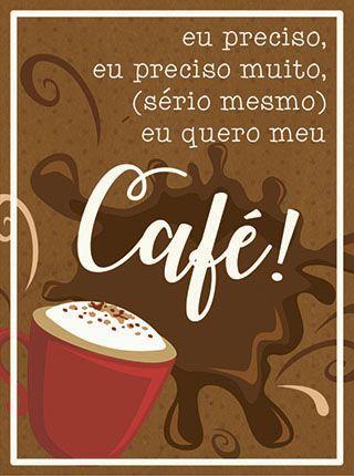 APM8-1118 - Aplique Litoarte Em Papel E Mdf - Eu Preciso...Café
