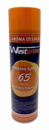 Cola Spray Adesivo Temporária 65 - 500 ml Aroma Laranja