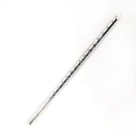 Régua Alumínio 50cm - Apex