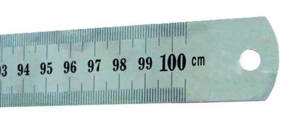 Régua de Metal 100cm