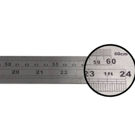 Régua de Metal 60cm