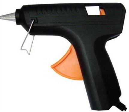 Pistola Cola Quente 12 Mm Fino -10w + 4 Refil Bastão(brinde)