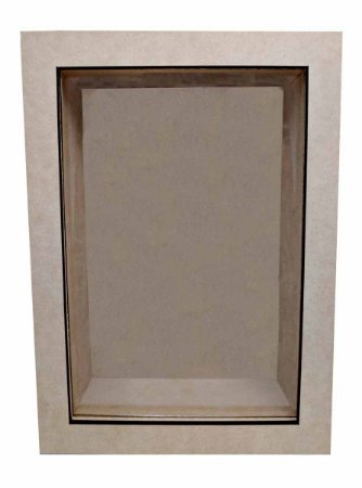 Quadro Liso Com Vidro MDF Fotos Cenário Decoração