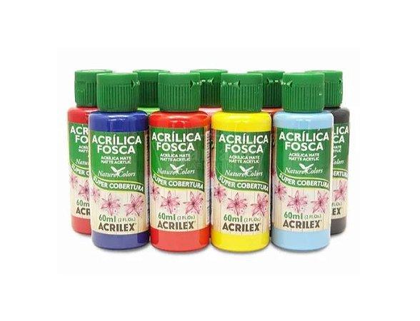 Tinta Acrílica Fosca - 60 ml - Acrilex