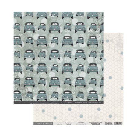 Papel Para Scrap À Procura Da Felicidade Automóvel - Scrap By Antonio 200324
