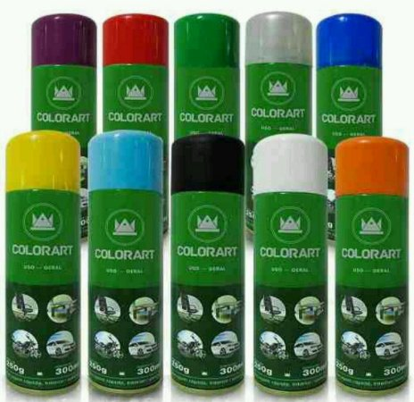Tinta Spray Para Uso Geral - 300 ml - Colorart
