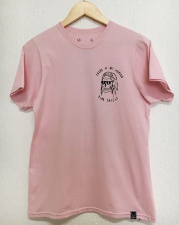 Camiseta There's no heaven - Rosa